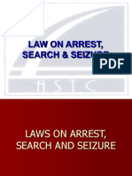 81904060 Laws on Arrest Search Seizure