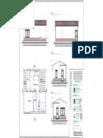 tav 22 - planimetria e prospetti palazzina accettazione e guardiania-layout1