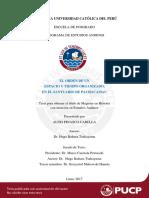 Pinasco Carella El Orden de Un Espacio y Tiempo Organizado en El Santuario de Pachacamac