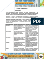 AA2 Evidencia Valores Organizacionales Ingry