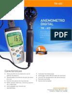 Anemometro TM 403