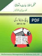 Information Department KPK Performance Report -2013-2018