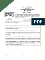 City Council agenda - May 29, 2018