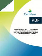 Norma Técnica Para Conexão à Rede de Distribuição MT