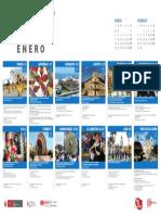 Peru Calendar Enero 2017