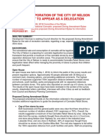 Recreational Cannabis Draft Zoning Amendments