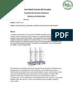 Uso de éteres epóxidos y sulfuros en la industria alimentica