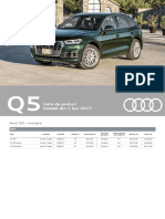 Lista de Preturi Audi q5!08!02 2017