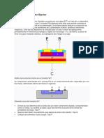 Estructura Transistor Bipolar