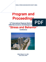 "Program and Proceedings - 14th International Regional ""Stress and Behavior"" Neuroscience and Biopsychiatry Conference (North America), June 22-23, 2018, Miami Beach, FL, USA"