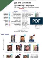 Logic and Dynamics of Programming Languages