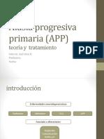 Afasia Progresiva Primaria (APP)