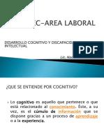 12 Desarrollo Cognitivo y Discapacidad Intelectual Lic. Nadiah Aima