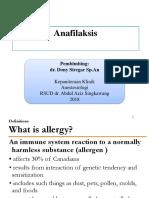 Anafilaksis baru tiga
