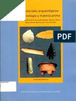 Miranbell Lorena Materiales Arquológicos