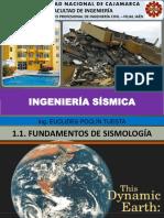 1.1. Fundamentos de Sismologia (Ingenieria Sismica Unc 2018-i)