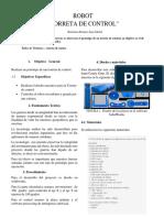 proyecto Torreta de control buscador de blancos con arduino y processing