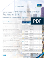 Colliers 2018 Q1 Top Office Metros Report