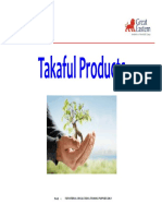 Takaful Products PDF