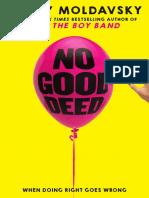 No Good Deed (PB Excerpt)