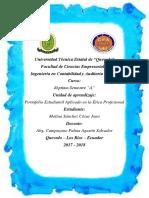 Portafolio Digital de Etica Profesional
