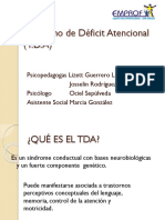 Síndrome de Déficit Atencional Presentacion