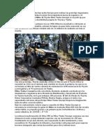 Toyota Australia y Tonka Han Unido Fuerzas Para Realizar Un Prototipo Impactante