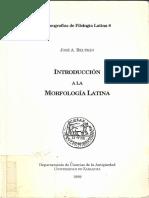 Beltrán, J.a.-1999_Introducción a La Morfología Latina