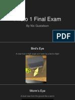 nic gustafson final exam