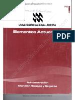 743 - Elementos Actuariales