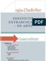 Tipologia Cladirilor (Institutii de Arta)