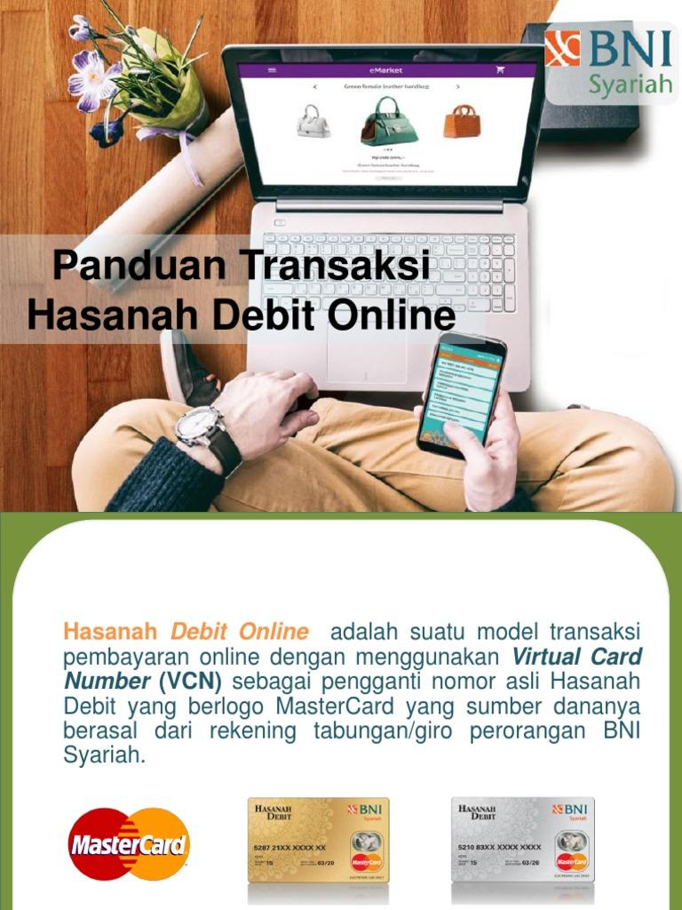 Panduan Transaksi Hasanah Debit Online 1