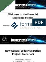 New General Ledger Migration Project Scenario 5 Lade Lawal Subsea7 Ltd
