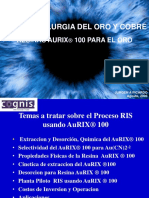 Hidrometalurgia Del Oro y Cobre