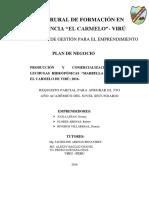 Plan de Negocio Cultivos Hidropónicos 2016