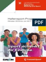 Hallen Sport Programm