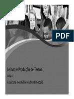 Leitura e Produção de Texto 4