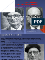 Biografias de Jorge Guillen y de Damaso Alonso