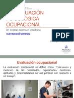 Clase 3 Psicología Ocupacional