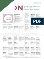 Paper-menu Spring a3 Core