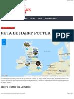 Ruta de Harry Potter   Lugares donde se rodó Harry Potter
