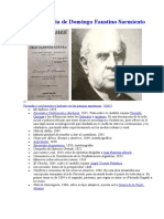 Obra Literaria de Domingo Faustino Sarmiento