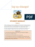 student booklet- year 6