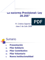 Reforma Previsional 2008