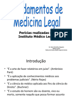 [PBM] - IML - Fundamentos de Medicina Legal