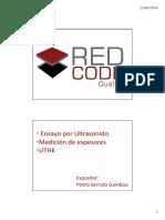 Curso de Ultrasonido UTHK 2015 - RCQ
