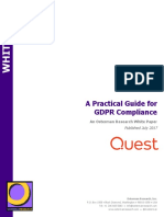 White Paper - a Practical Guide for GDPR Compliance