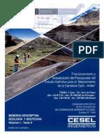 Memoria Descriptiva Geologia y Geotecnia distrito de oyon