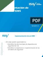 implementación Isms