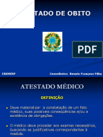 Atestado de Obito - Dr. Renato Francoso